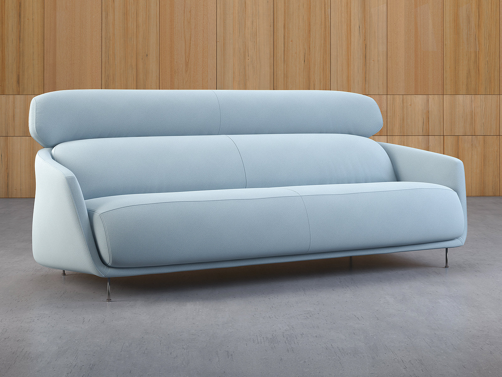 Okura Sofa High Rest 3d Model Ligne Roset
