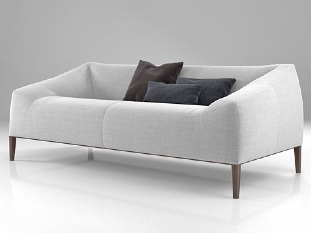 Carmel Sofa 3d Model Poliform