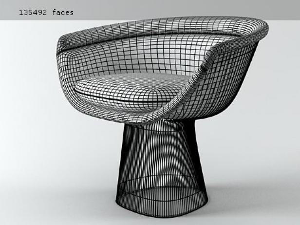 High Quality Platner Lounge Chair 5