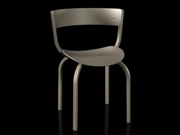 404 3d modell thonet. Black Bedroom Furniture Sets. Home Design Ideas