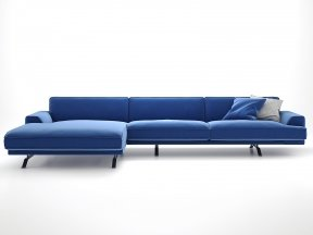 Slab Corner Sofa