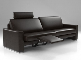 Modular Sofa Family with Head and Footrest Element