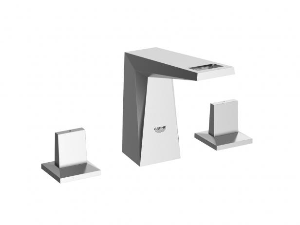 Cube Wall-hung Basin 100 Set 6