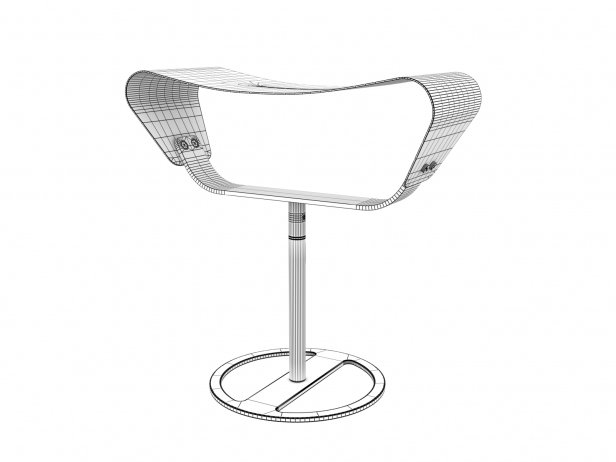 Evolution Outdoor Stool 4