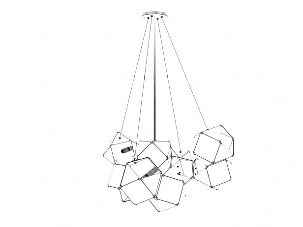 Welles Central Chandelier 6