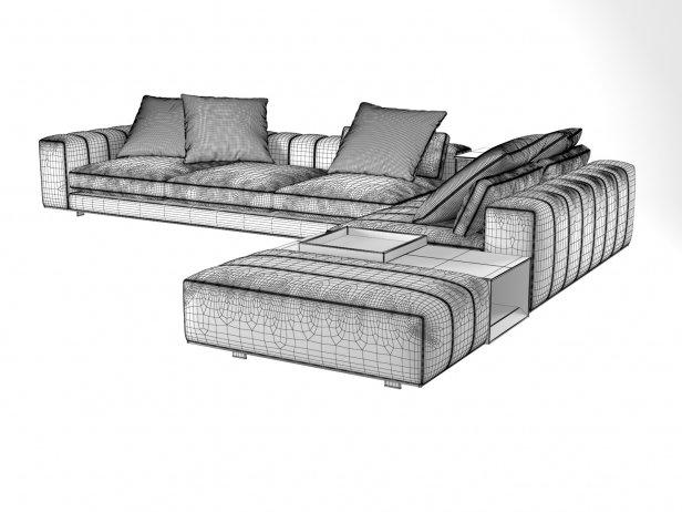 Freeman Corner Sofa System N 6