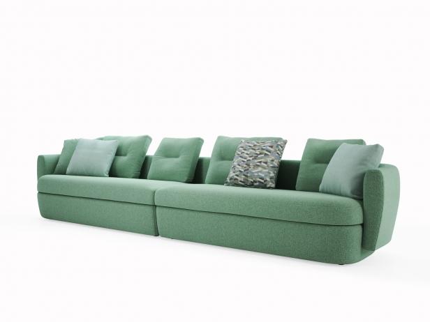 Ipanema 4-Seater Sofa 3d Model | Ligne Roset, France