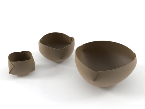 Folded Bowls 3