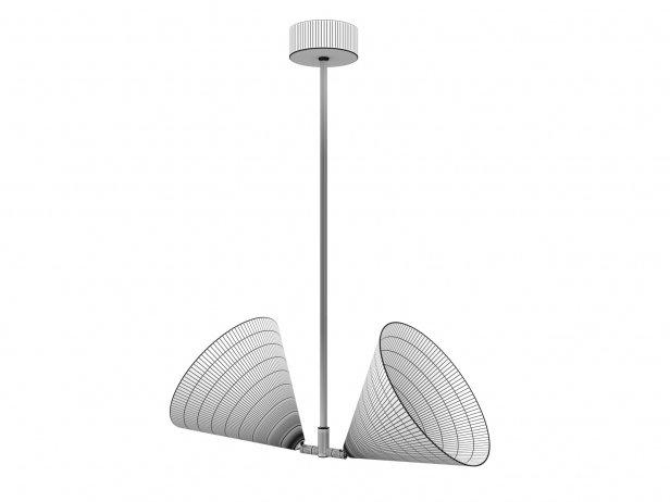 Triple Double Pendant Lamp 5