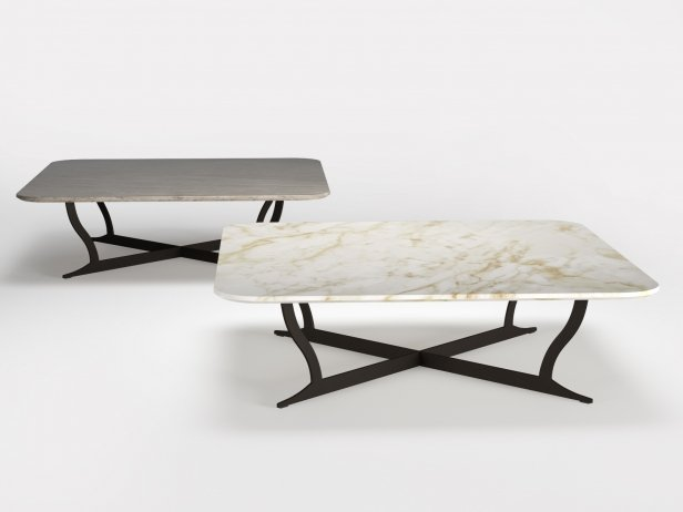 Richard Coffee Table Marble & Soft 120 2