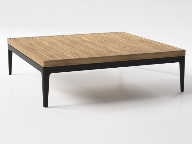 Outdoor Square Coffee Table 2