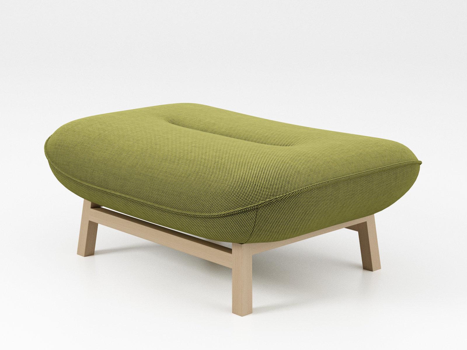 cosse pouf 3d model ligne roset. Black Bedroom Furniture Sets. Home Design Ideas