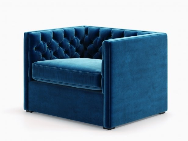 Mercer Tufted Club Chair 2