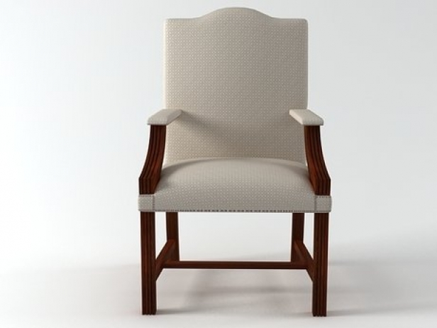 furniture for bedroom gainsborough chair 3d model 11620