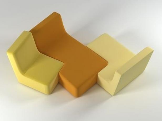 confluences 3d model ligne roset. Black Bedroom Furniture Sets. Home Design Ideas