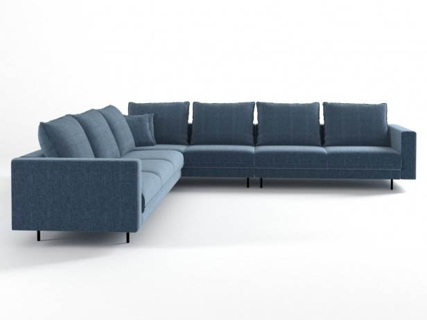 Enki Corner Sofa 6