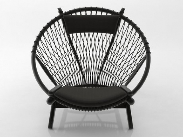 Circle Chair pp130 circle chair 3d model | pp mobler
