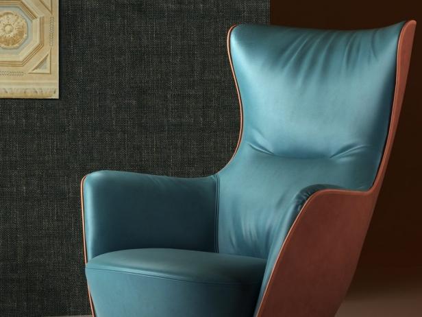 mamy blue 3d model poltrona frau. Black Bedroom Furniture Sets. Home Design Ideas