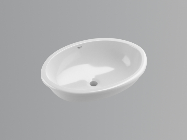 Bau Under counter Basin 55 Set 4