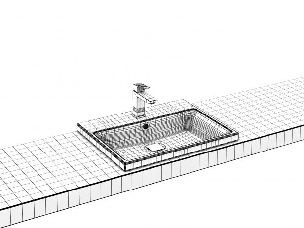 Eurocube Built-in Basin 60 Set 5