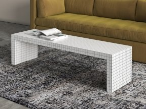 Quaderna Console and Bench