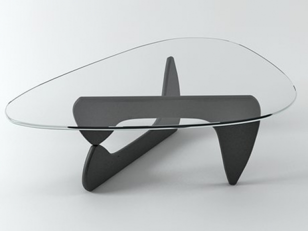 Noguchi Coffee Table 3d Model Vitra Switzerland