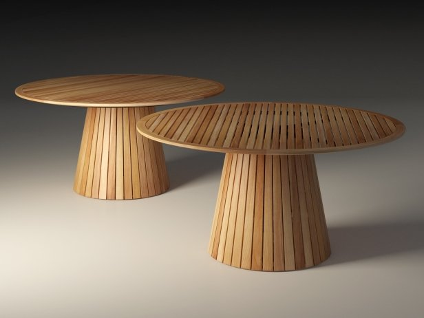 Wooden Outdoor Dining Table 3