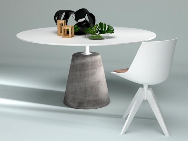 Rock Table 3d Model Mdf Italia
