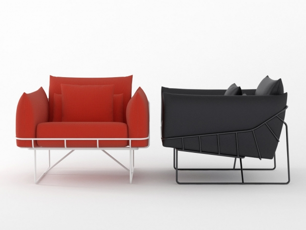 Wireframe armchair 1