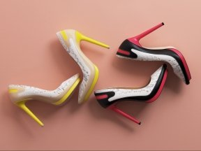 L.A.M.B. Jean Sporty Pump Shoes