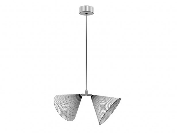 Triple Double Pendant Lamp 4
