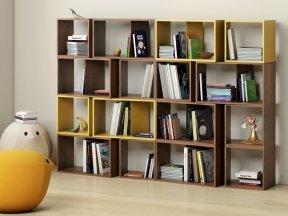 Cuts Bookshelf Composition 4 & 5