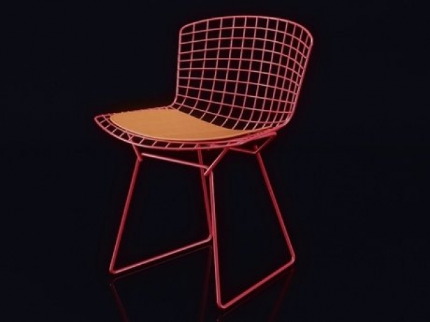 Bertoia Side Chair 1
