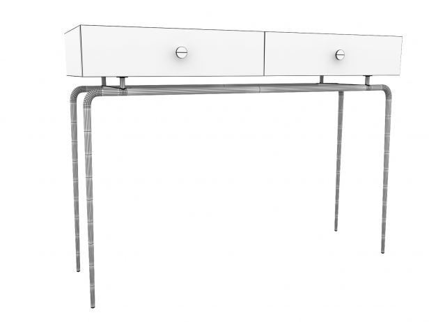 Debourgeoisee Console Table 4