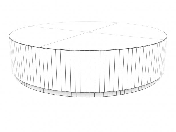 Machinto Round Coffee Table 8