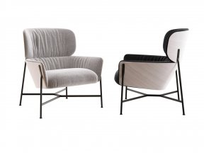 Caristo Low Back Armchair
