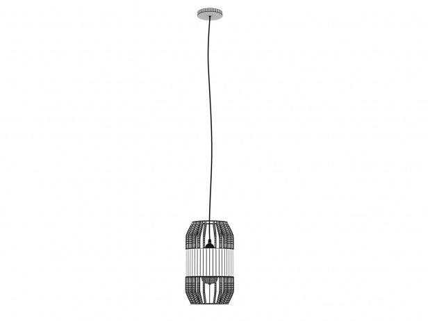 Lath Pendant Lamp 5