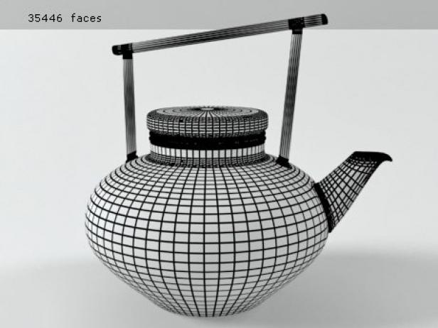 Glass Teapot Set 7