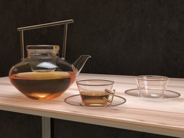 Glass Teapot Set 2