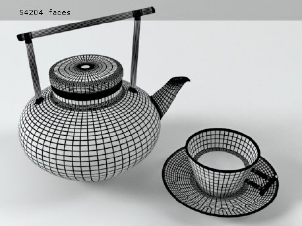 Glass Teapot Set 6