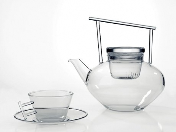 Glass Teapot Set 1
