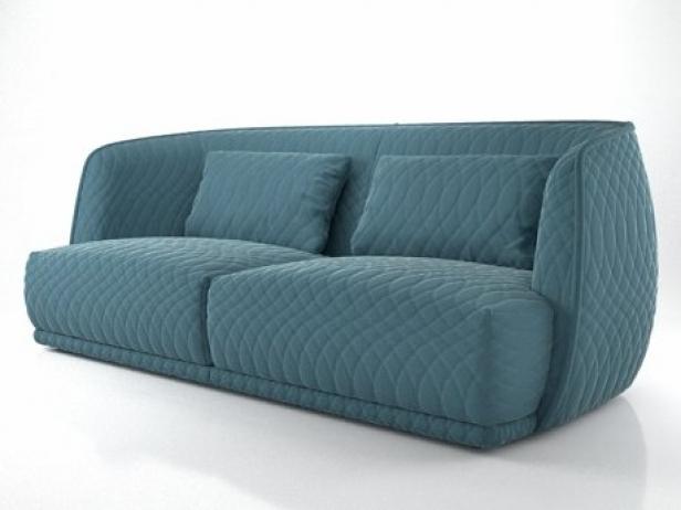 Redondo Sofa 215 3d Model Moroso