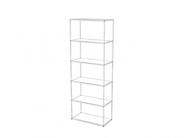 Dita High Unit and Shelving 5