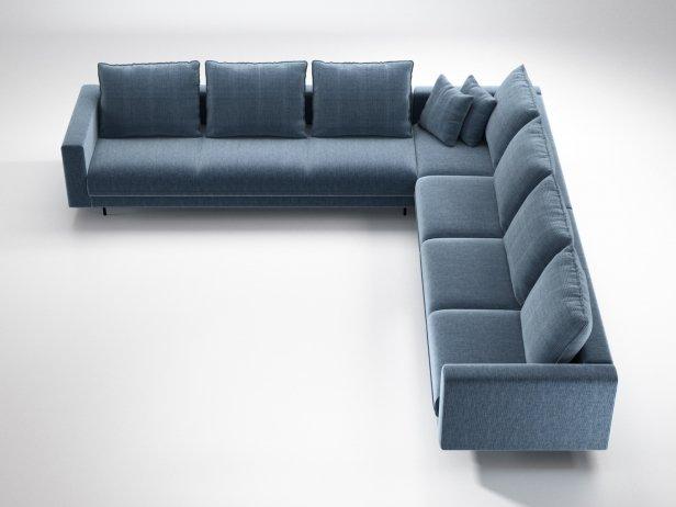 Enki Corner Sofa 3d Model Ligne Roset France