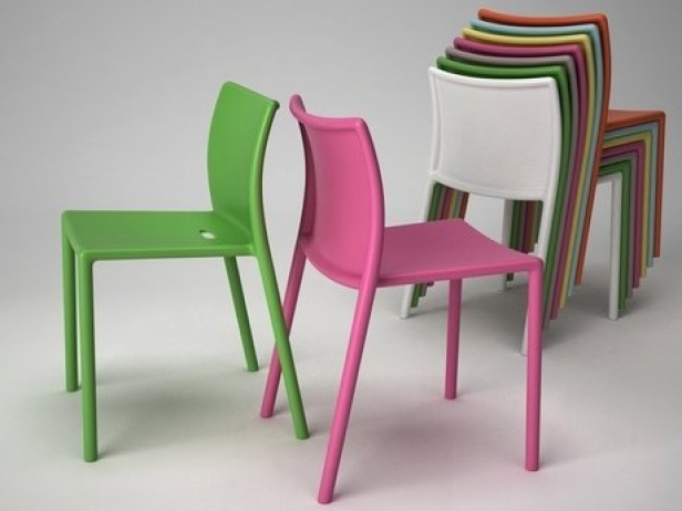 Air chair 3d model Magis