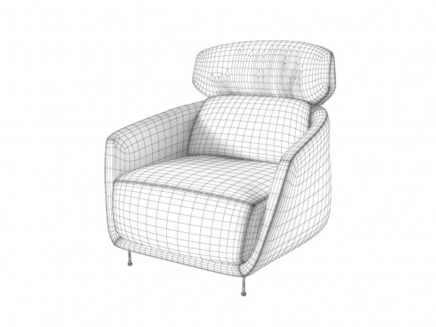 Okura Armchair High Back 5