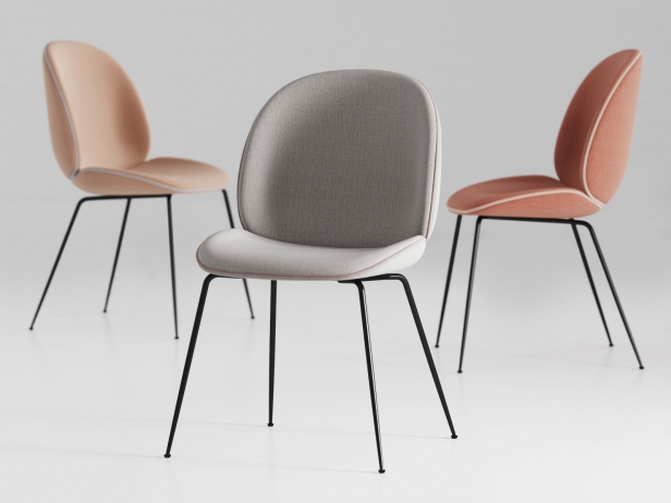 beetle chair  model gubi denmark