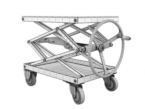 Industrial Scissor Lift Table 8