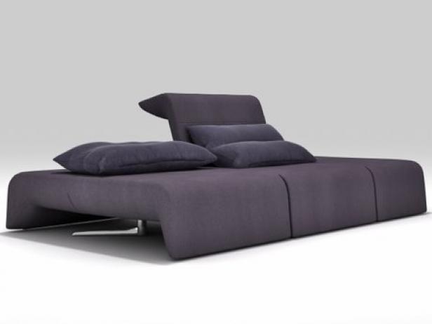 downtown large sofa 3d model ligne roset. Black Bedroom Furniture Sets. Home Design Ideas