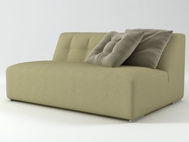Malhoun Settee Without Arms 2